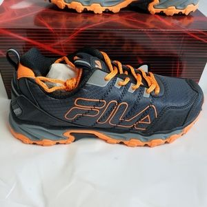 Fila Blowout 18 Orange Shoes
